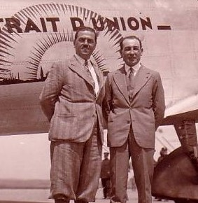 Doret et Le Brix en 1932